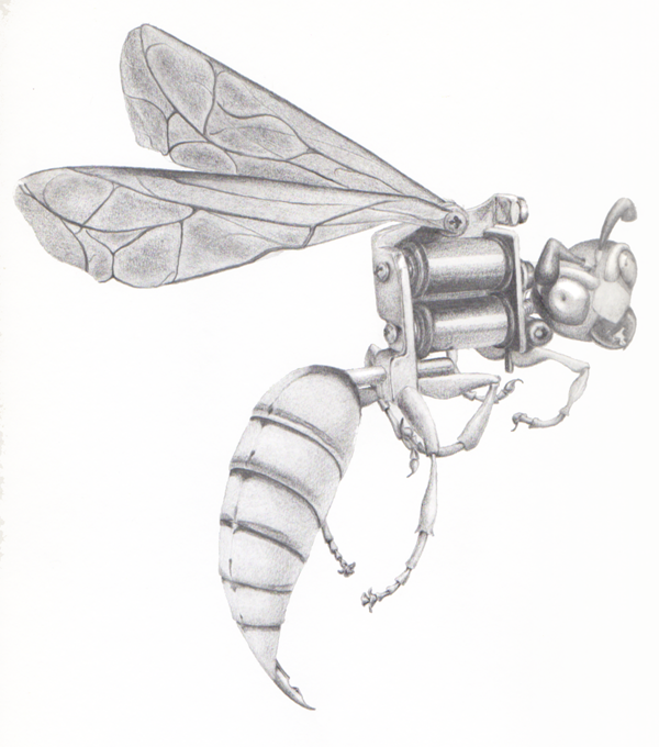 machine wasp