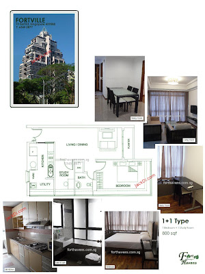 Fortville Singapore Apartments Cheap rental in singapore House for rent singapore cheap aparments Singapore