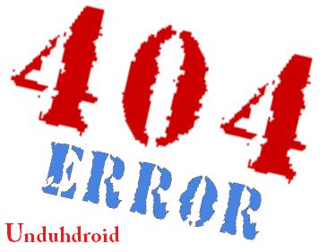 Kode Error yang muncul di Browser PC