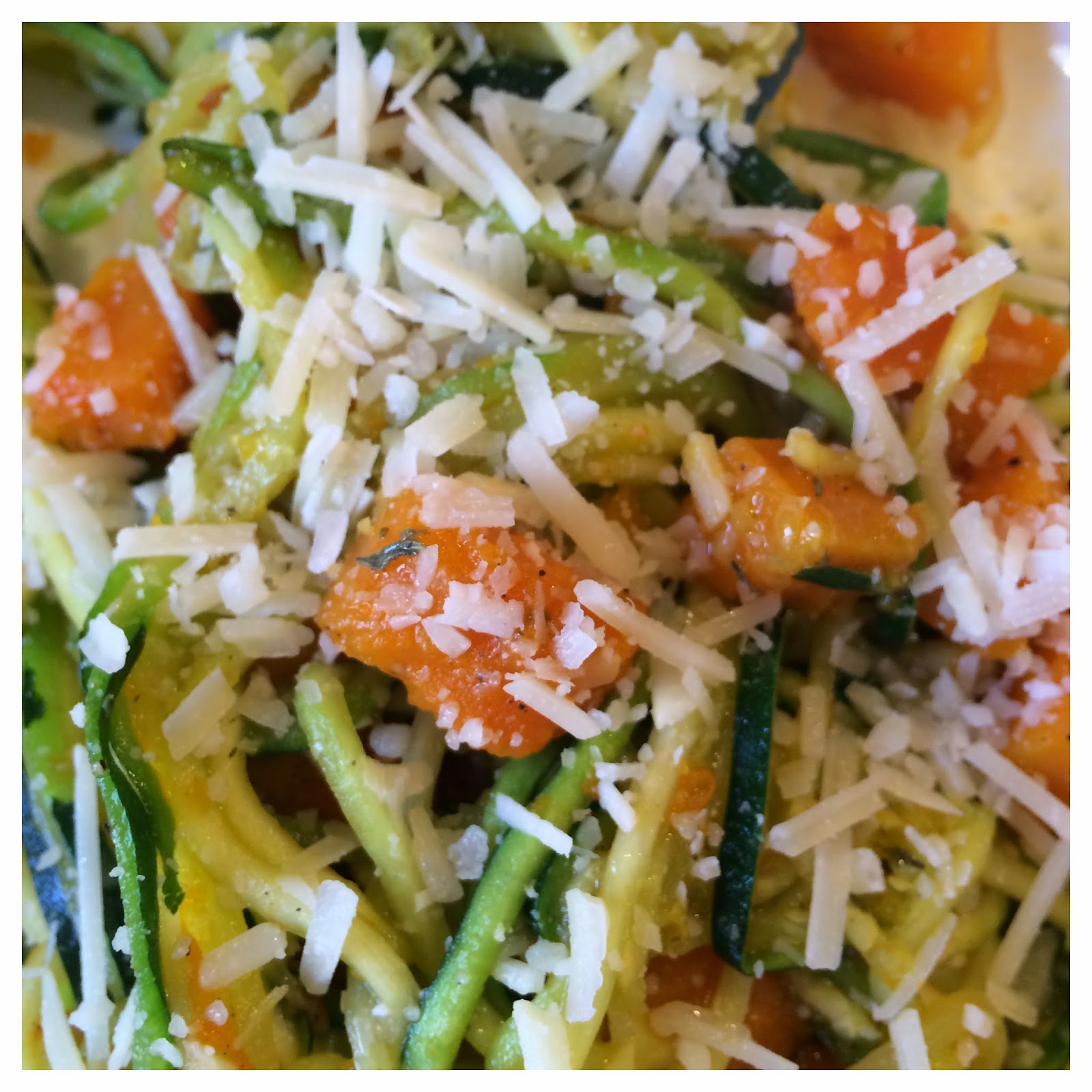 ... Recipe: Perfect for Spring - Zucchini Pasta with Butternut Squash