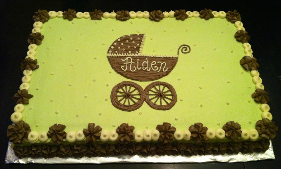 Sweet Treats by Susan: Baby Carriage Cake