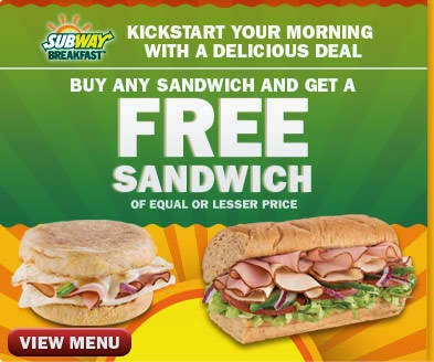 graphic about Printable Subway Coupons identify Absolutely free food stuff discount codes subway