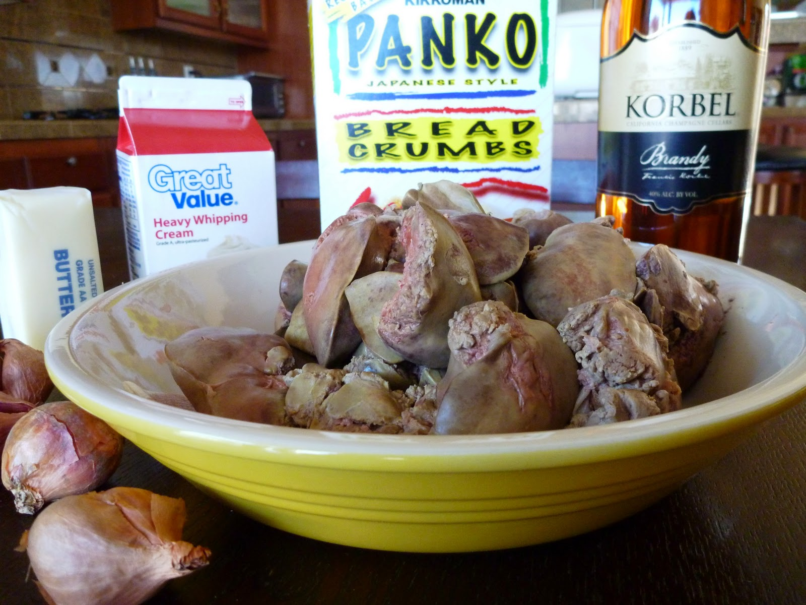 how to cut moose liver pate mousse