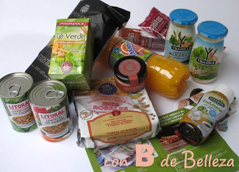Febrero Degustabox comida