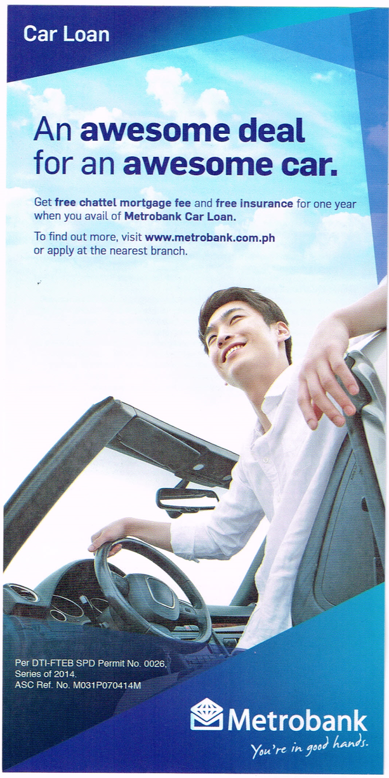 Metrobank Car Loan Promo