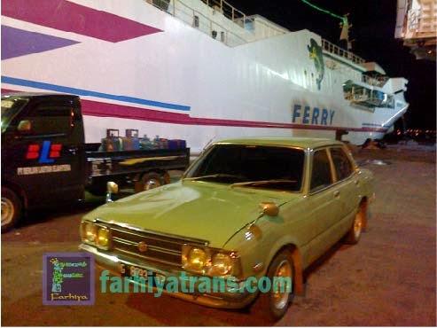 Pengiriman mobil sedan toyota Corona dari Surabaya tujuan Banjarmasin