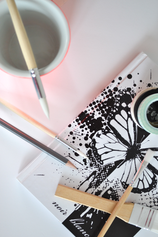 pretty desk stationary