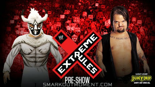 WWE Extreme Rules 2014 PPV Pre-Show Match Hornswoggle vs El Torito