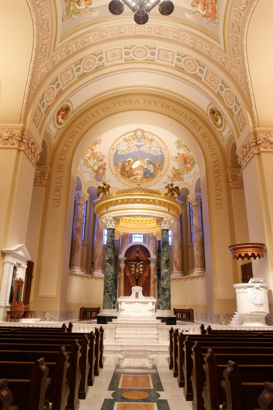 Restored And Renovated St. Joseph Cathedral, Sioux Falls, Opened
