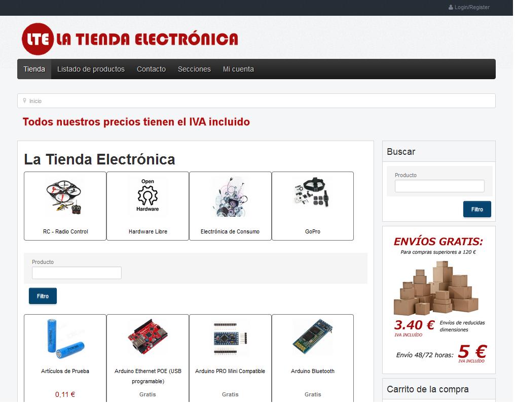 La Tienda Electronica