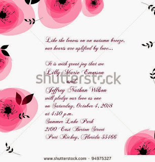 Carte d'invitation anniversaire mariage gratuite à imprimer