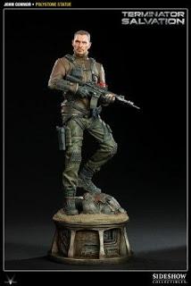 John Connor polystone Statue