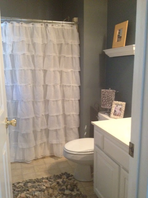 Master Bathroom & Shower Curtain Review