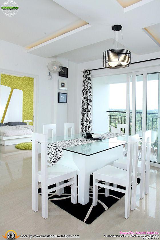 Dining room after furnished