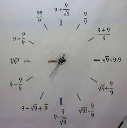 Relógio Matemático II