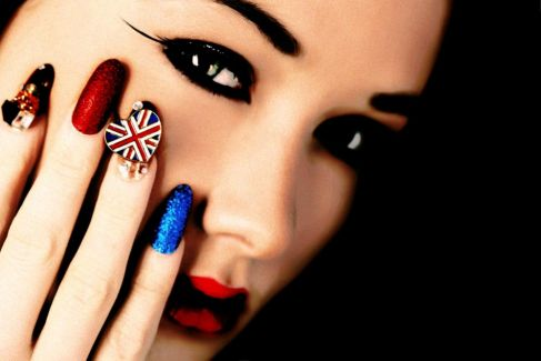 Fashion Online Olympics Inspired Nail Art Let The Games Begin