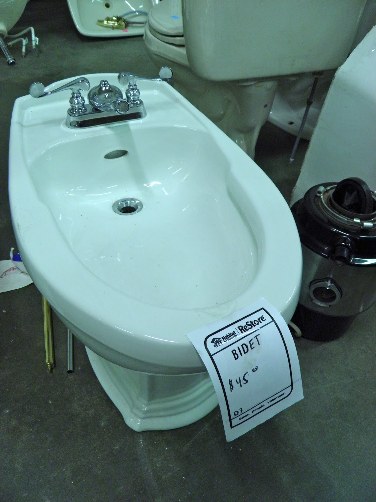Lovely As for the bathtub I imagined in my new spa bathroom In my head it was this one we stumbled on at our local building supply surplus store But