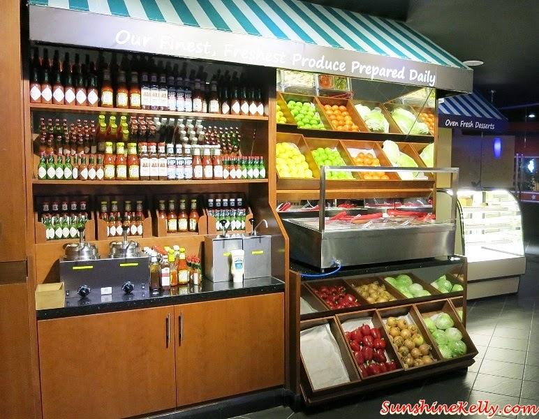 Fuddruckers Salad Bar, Fuddruckers Sauce Shop, Fuddruckers Malaysia, American Casual Dining, Fuddruckers Lot10, Fuddrucker, American Food