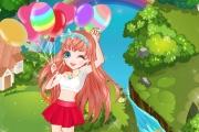 Barbi Rengarenk Balonlar Oyunu