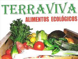 Punto de distribución de alimentos ecológicos en el local de CNT