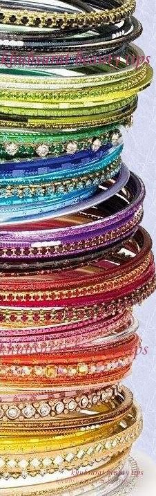 Latest stylish bangles of 2014