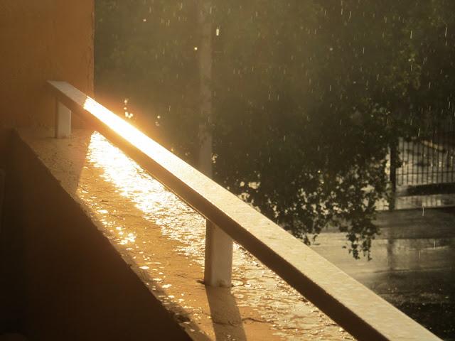 shinny, sunset photo,balcony