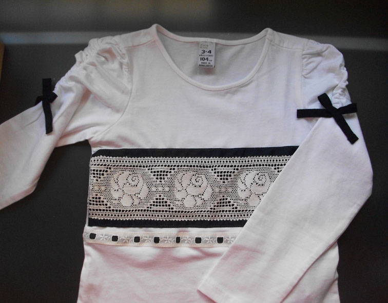 Camisas decoradas con cintas - Imagui
