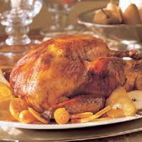 Orange- and Herb-Roasted Turkey