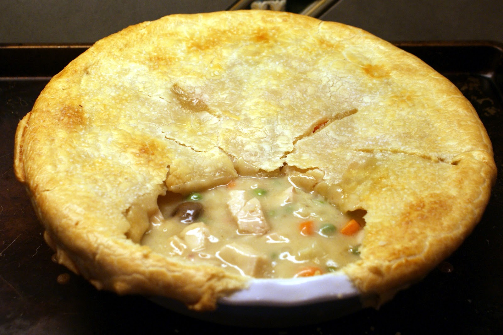 The Baker's Mann: Chicken Pot Pie