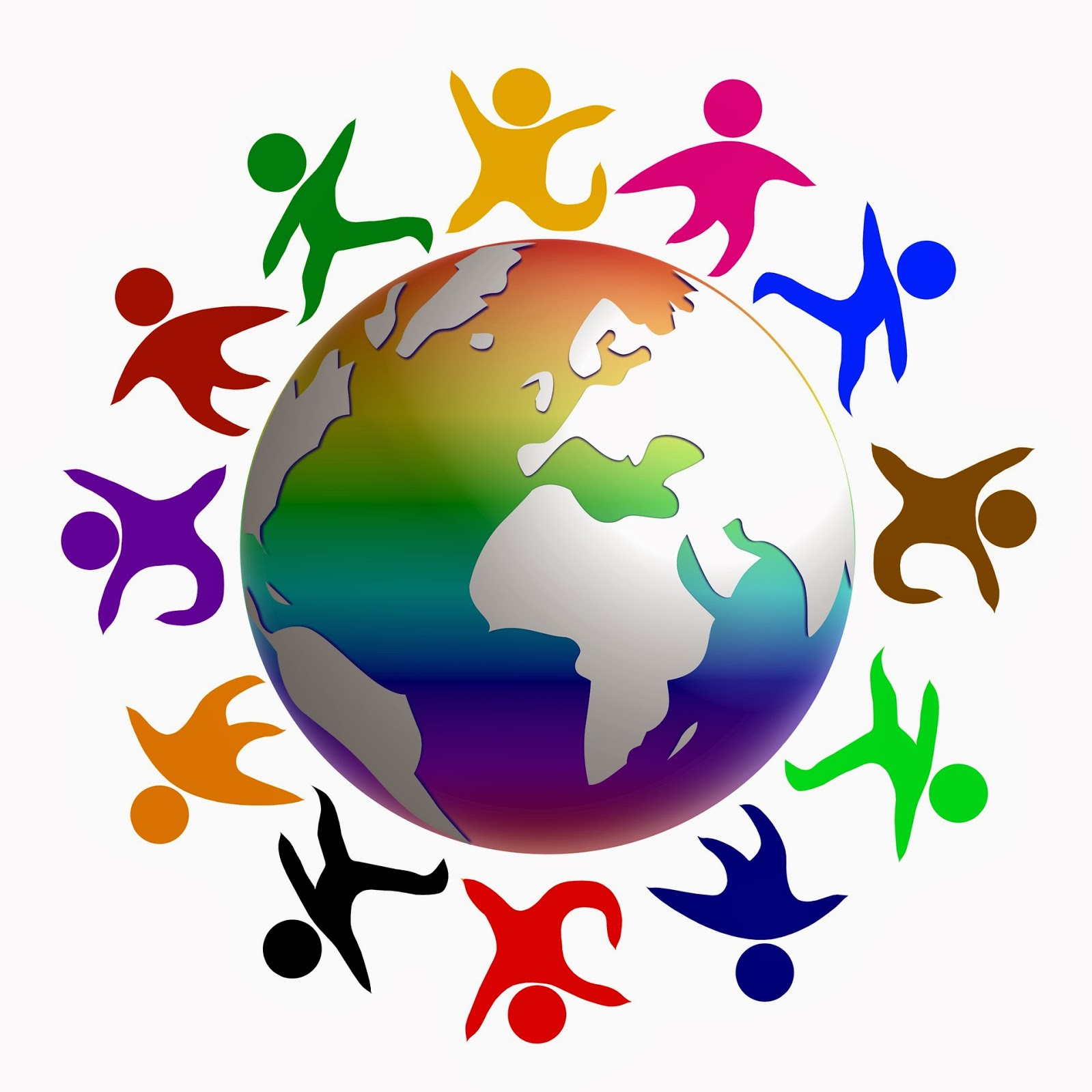 Открытка мир на всей планете