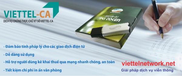 Đăng ký và gia hạn dịch vụ chữ ký số viettel 01