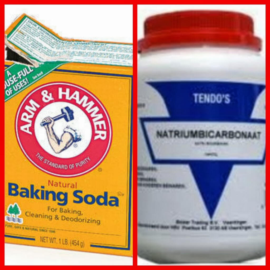 is natriumbicarbonaat hetzelfde als baking soda