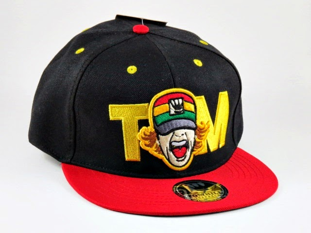 Boné Aba Reta Reggae Colors Snapback - Tom Hill