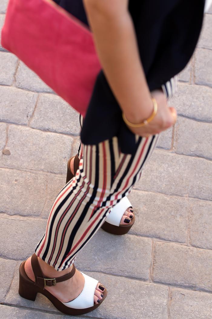 Sandalias verano con plataforma cómodas de la marca Alpe de la Shoe Blogger withorwithoutshoes