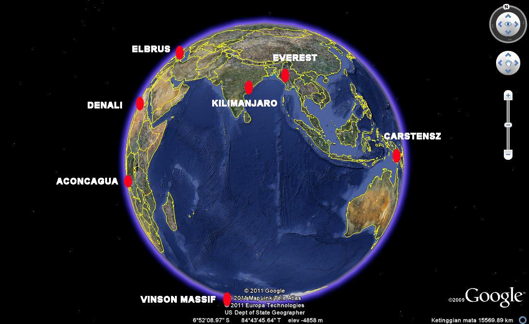 Orang Indonesia Bahu-Membahu di Seven Summits