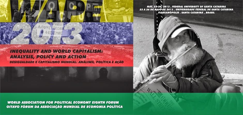 Encontro Anual da Associação Mundial de Economia Política - WAPE - 2013