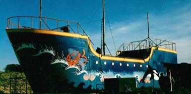 primer barco pintado
