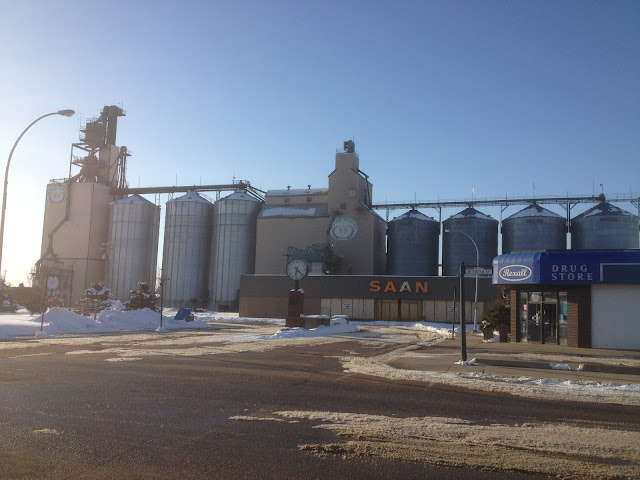 The Grain Elevator in Westlock