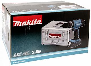Wiertarko-wkrętarka Makita BHP 453
