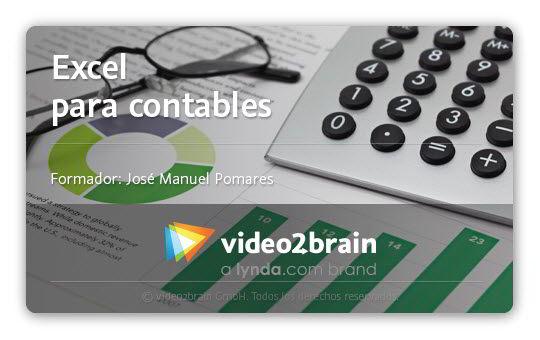Curso Video2Brain: Excel para contables Español