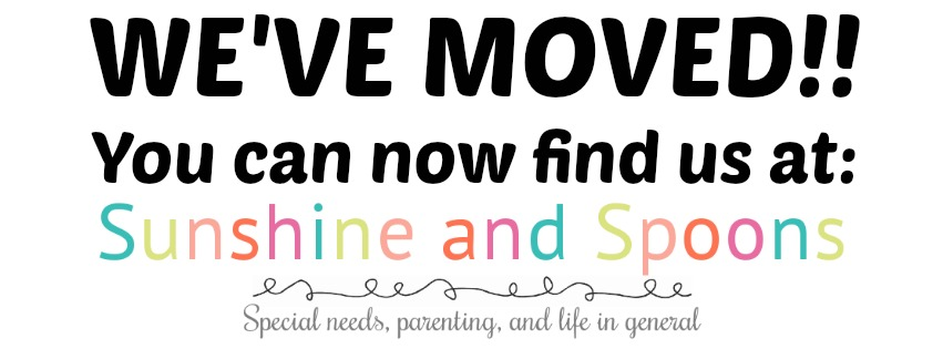 WE'VE MOVED!!  You can now find us at Sunshine and Spoons!