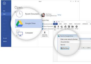 ofice plugin google drive