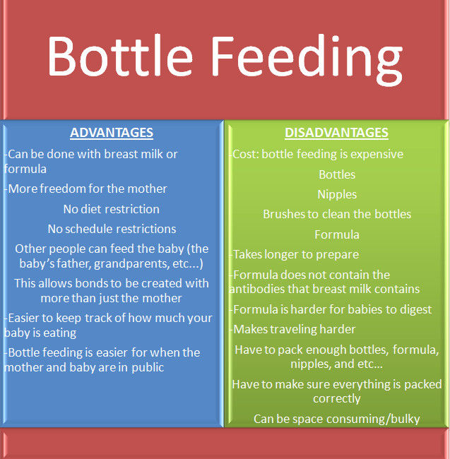The Pros & Cons of Breastfeeding vs Pumping -
