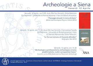 Archeologie a Siena.