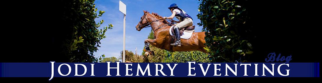 Jodi Hemry Eventing