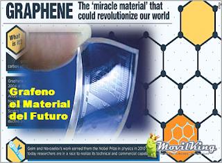 Graphene Material para Hacer Celulares transparentes