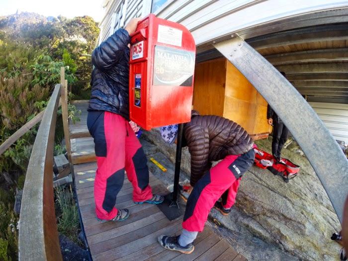 Peti Pos Malaysia ke 3 110 di kedudukan Altitud 3 286 Laban Rata Gunung Kinabalu Sabah