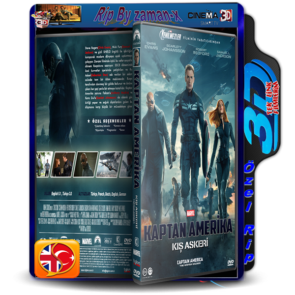 KAPTAN AMERiKA_KIş ASKERi | 3D | 2014 | BLURAY RİP | AC3 DUAL 5.1 AUDiO | TR/ENG  3 GB