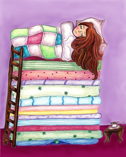Princess and the pea image 