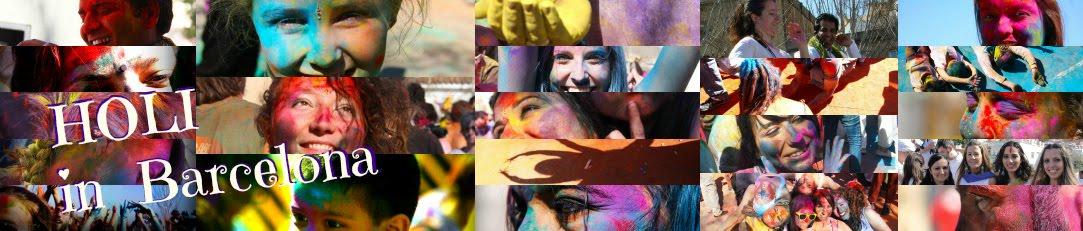 Holi festival in Barcelona